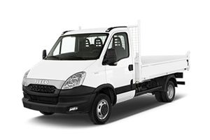Location voiture Guadeloupe Iveco Benne