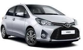 Location voiture Guadeloupe Toyota Yaris 1.0 terra 5p