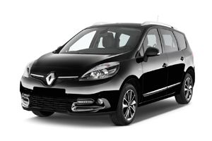 Location voiture Guadeloupe Renault Grand scenic - Photo 1